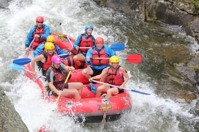 Wet N Wild rafting Rotorua 6