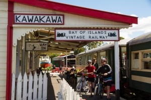 Twin Coast Cycle trail - Kawakawa station