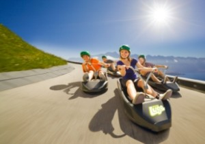Queenstowns top attraction - Skyline Luge