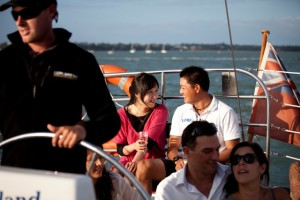 explore enjoying the sailing Auckland