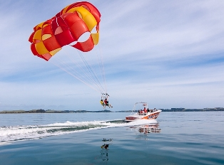 Kiwi Parasail Trips Bay of Islands