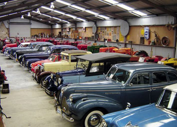 Mathews Vintage car Collection