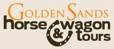 Golden­_Sands_Horse_Wagon_Tours_West_Coast_Barryrown_logo