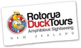 Rotorua Duck Tours - Sightseeing family fun in a Amphibious