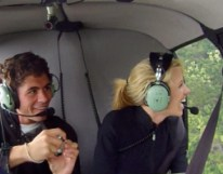 Scenic-flights-auckland-inflight-helicopters-Love is in the air-2