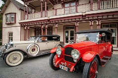 riccarton-house-and-bush-christchurch-guided-heritage-tours-vitage-cars-display