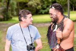 waitangi-treaty-grounds-visitor-with-maori-guide