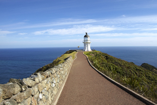Scenic flights to Cape Reinga lighthouse