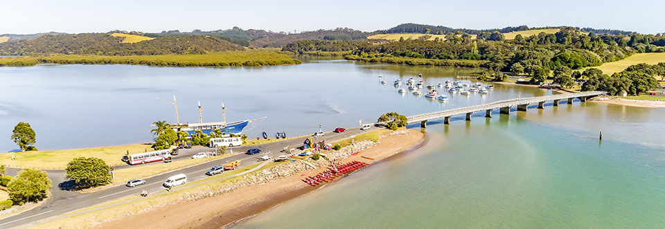 Coastal Kayakers located at Waitangi Bridge, Paihia, Bay of Islands