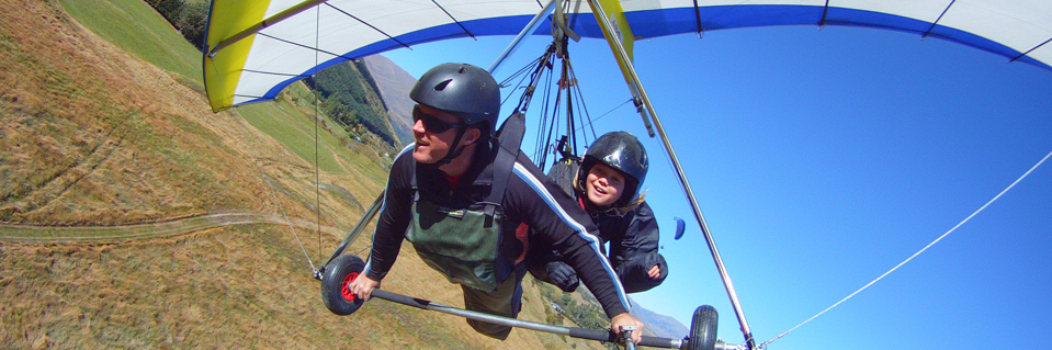 Coronet Peak Tandem Paragliding & Hang Gliding Queenstown