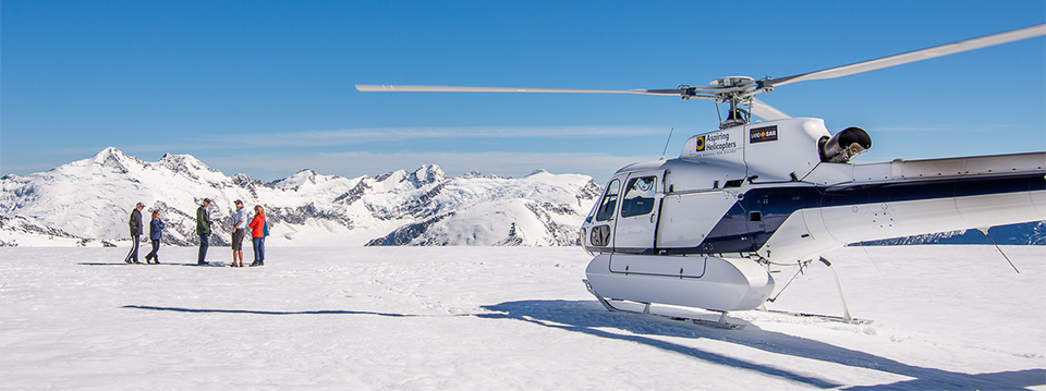 Lake Wanaka Aspiring Helicopters scenic helicopter flights