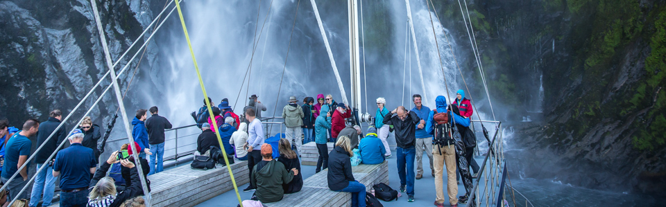 Milford Sound cruises with Real journeys
