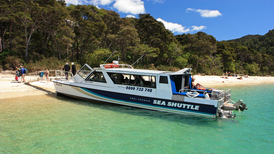 Water Taxi From South To North Island New Zealand
