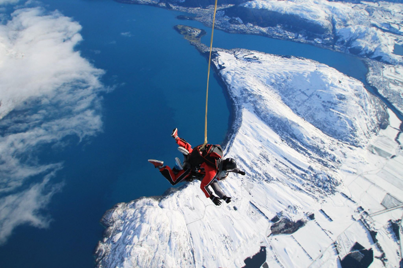 Nzone Skydive Queenstown The Ultimate Tandem Skydiving Jump
