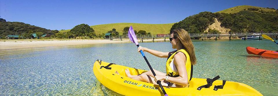 Bay of Islands Kayaking trips