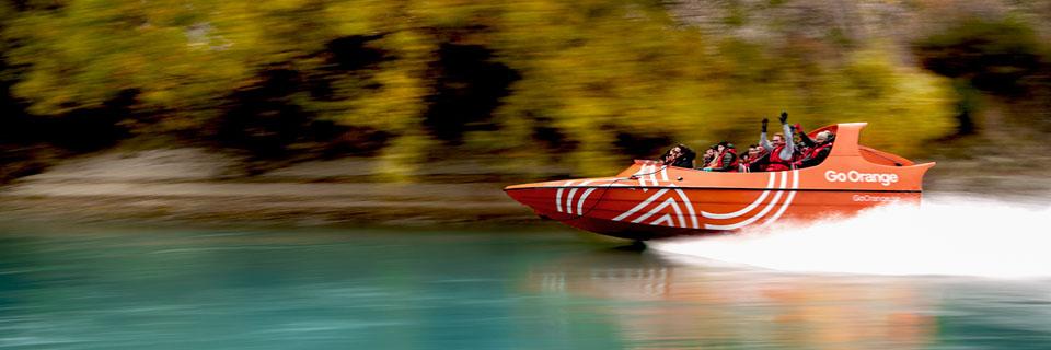Go Orange Jet Boat Queenstown
