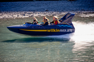 Wilkin River Jet Boat on the Makarora River