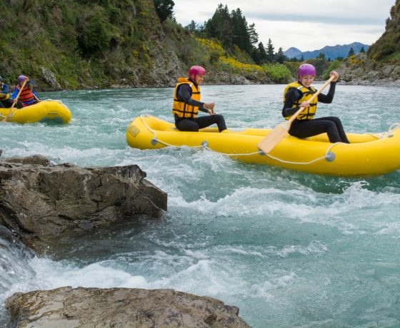 Best Canoe Trips South Island New Zealand