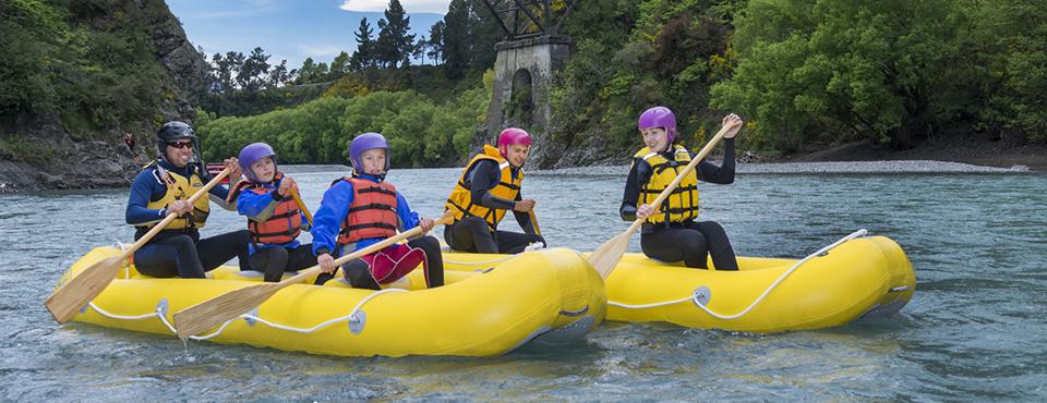 Hanmer Springs Canoe Trips down the Waiau River