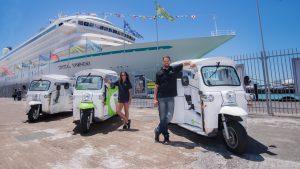 Auckland Tuk tuk Tours eco electric