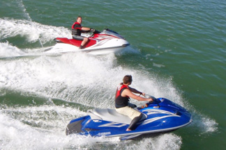 Bay of Islands Jet Ski guided Tour