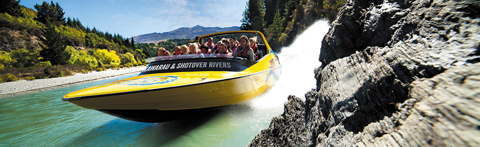 Kjet Queenstown Jet boat tours on the Kawarau River