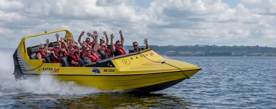 Katoa Jet boat trips Rotorua