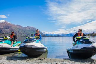 Jet ski hire & tours on Lake Wanaka