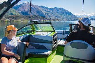Water ski boat hire on Lake Wanaka