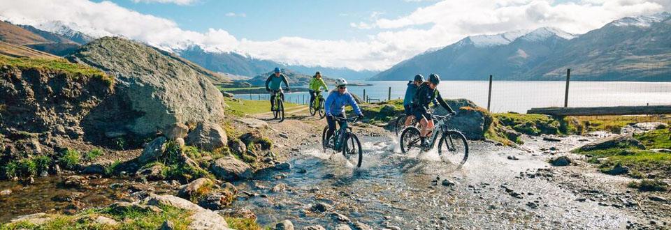 Wanaka Heli Biking tours