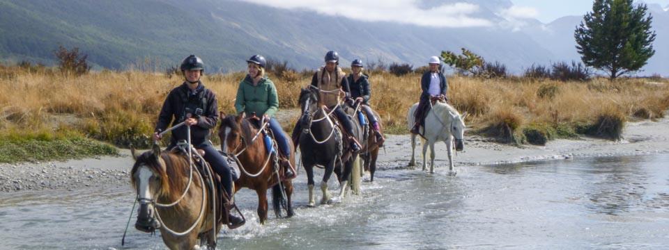 Horse Riding Treks Queenstown Glenorchy